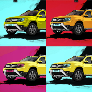 RENAULT.RU POP ART